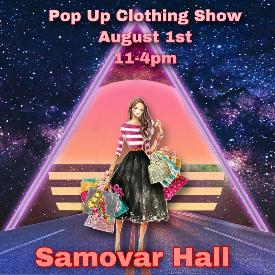 Private shopping event @ Samovar Hall